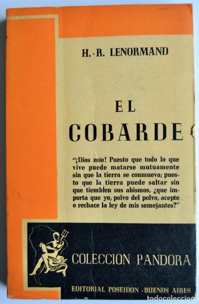 Libros de segunda mano: Lote 3 libros Teatro Colección Pandora. Lenormand, Conrado Nalé Roxlo , E.Labiche y Marc-Michel.1944 - Foto 3 - 237349615