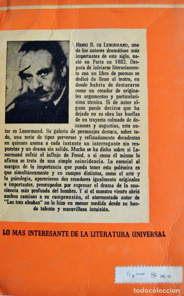 Libros de segunda mano: Lote 3 libros Teatro Colección Pandora. Lenormand, Conrado Nalé Roxlo , E.Labiche y Marc-Michel.1944 - Foto 4 - 237349615