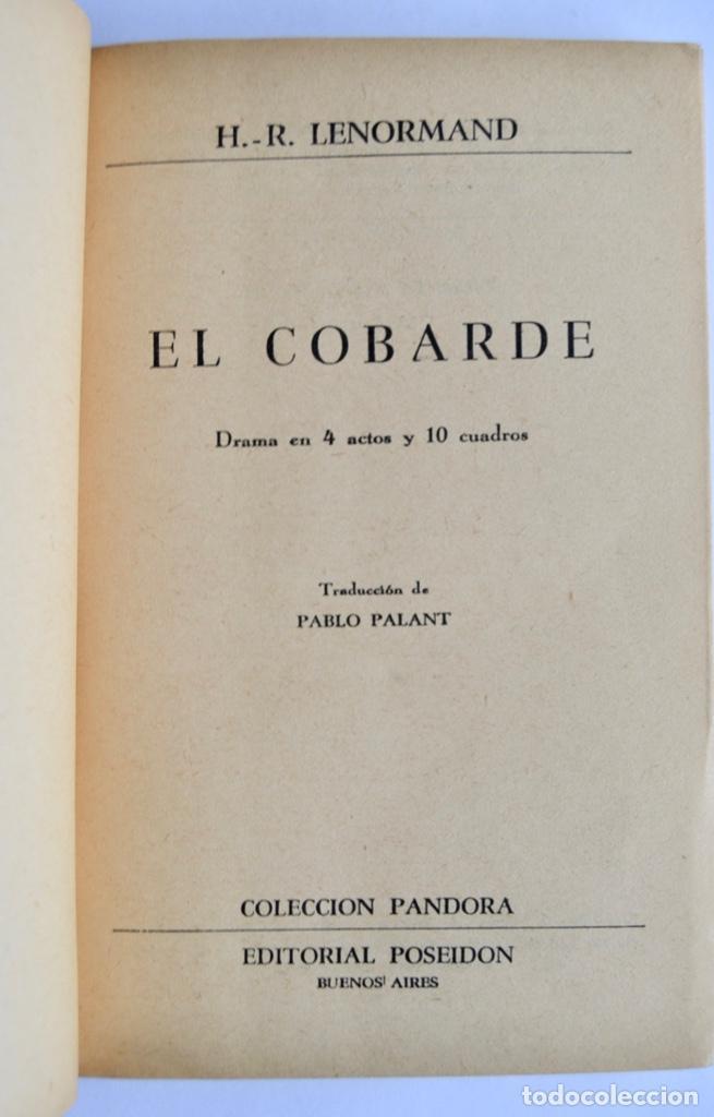 Libros de segunda mano: Lote 3 libros Teatro Colección Pandora. Lenormand, Conrado Nalé Roxlo , E.Labiche y Marc-Michel.1944 - Foto 5 - 237349615