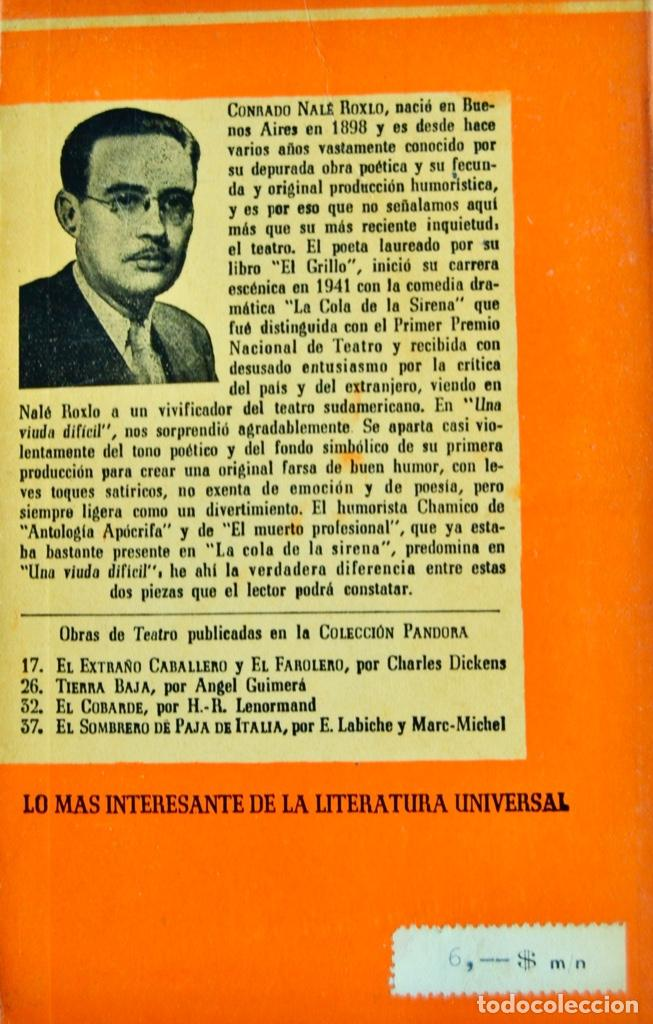 Libros de segunda mano: Lote 3 libros Teatro Colección Pandora. Lenormand, Conrado Nalé Roxlo , E.Labiche y Marc-Michel.1944 - Foto 9 - 237349615
