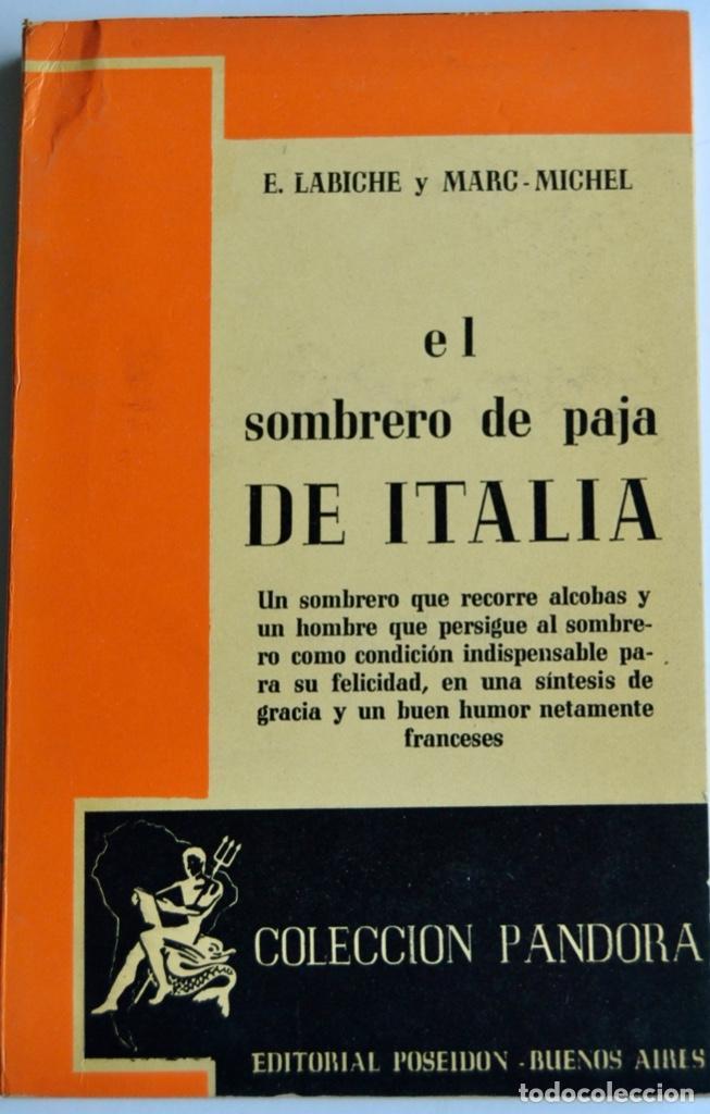 Libros de segunda mano: Lote 3 libros Teatro Colección Pandora. Lenormand, Conrado Nalé Roxlo , E.Labiche y Marc-Michel.1944 - Foto 10 - 237349615