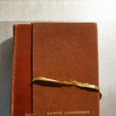 Libros de segunda mano: LA DIVINA COMEDIA DANTE ALIGHIERI ILUSTRACIONES GUSTAVO DORÉ. Lote 237761385