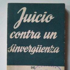 Libros de segunda mano: ALFONSO PASO: JUICIO CONTRA UN SINVERGÜENZA. ALFIL ESCELICER NÚMERO 208. 1959. Lote 238354885