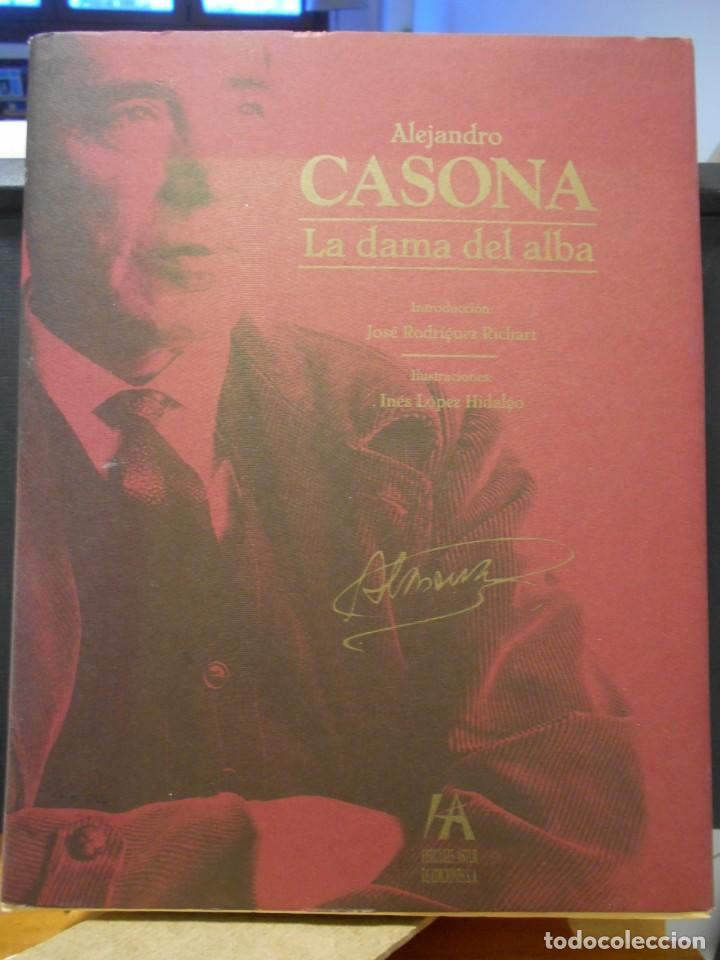 LA DAMA DEL ALBA. ALEJANDRO CASONA. INTRODUCCION: JOSE RODRIGUEZ RICHARD. ILUSTRACIONES: INES LOPEZ (Libros de Segunda Mano (posteriores a 1936) - Literatura - Teatro)