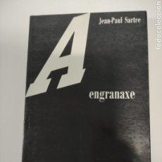 Libros de segunda mano: A ENGRANAXE , JEAN PAUL SARTRE. Lote 241005155