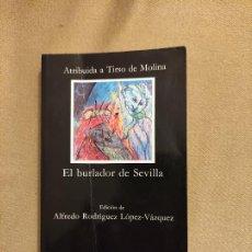 Libros de segunda mano: EL BURLADOR DE SEVILLA, ATRIBUIDO A TIRSO DE MOLINA. Lote 242173610