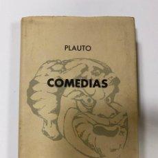 Livros em segunda mão: COMEDIAS. TITO MACCIO PLAUTO. EDITORIAL AGUILAR.COLECCION CRISOL Nº 277. MADRID, 1962. PAGS:497. Lote 242276295
