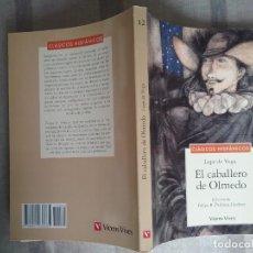 Libros de segunda mano: EL CABALLERO DE OLMEDO. LOPE DE VEGA. ED FELIPE B. PEDRAZA JIMÉNEZ. VICENS VIVES 1996. Lote 242388655