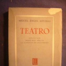 Libros de segunda mano: MIGUEL ANGEL ASTURIAS. TEATRO. (CUATRO OBRAS TEATRALES) (BUENOS AIRES, 1964) (PRIMERA EDICION). Lote 243614280