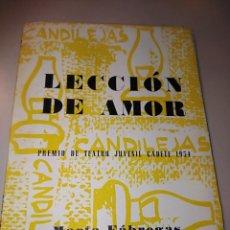 Libros de segunda mano: LECCIÓN DE AMOR. Lote 243878245