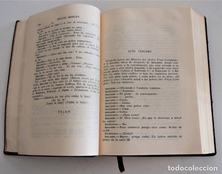 Libros de segunda mano: MIGUEL MIHURA - OBRAS COMPLETAS - EDITORIAL AHR - BARCELONA AÑO 1962 - 1ª EDICIÓN - Foto 5 - 244415825