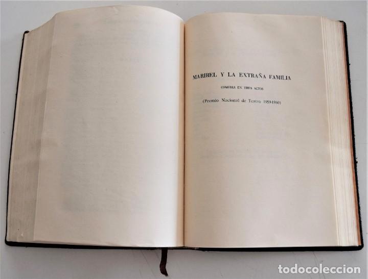 Libros de segunda mano: MIGUEL MIHURA - OBRAS COMPLETAS - EDITORIAL AHR - BARCELONA AÑO 1962 - 1ª EDICIÓN - Foto 7 - 244415825