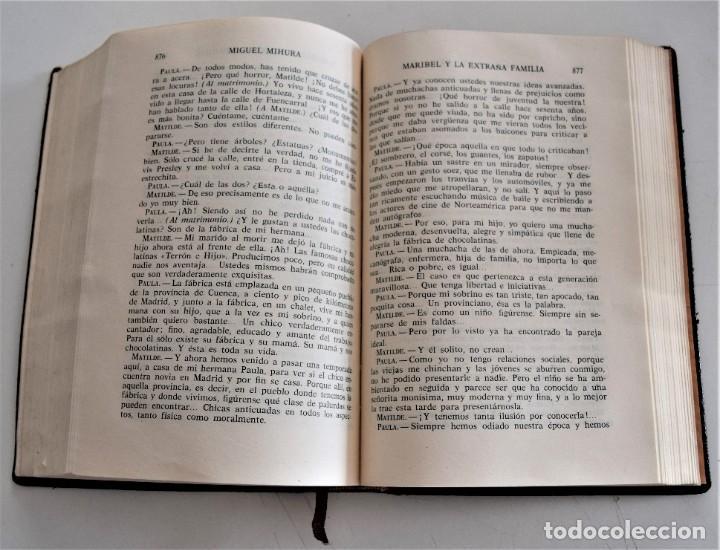 Libros de segunda mano: MIGUEL MIHURA - OBRAS COMPLETAS - EDITORIAL AHR - BARCELONA AÑO 1962 - 1ª EDICIÓN - Foto 8 - 244415825