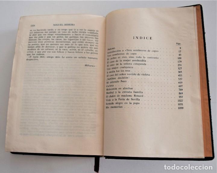 Libros de segunda mano: MIGUEL MIHURA - OBRAS COMPLETAS - EDITORIAL AHR - BARCELONA AÑO 1962 - 1ª EDICIÓN - Foto 9 - 244415825
