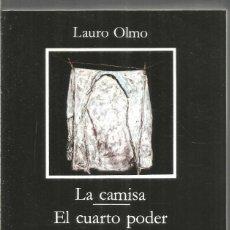 Libros de segunda mano: LAURO OLMO. LA CAMISA. EL CUARTO PODER. CATEDRA. Lote 244483395