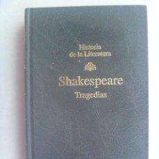 Libros de segunda mano: HISTORIA DE LA LITERATURA : SHAKESPEARE , TRAGEDIAS . DE RBA , 1998. Lote 244587850