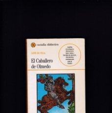 Libros de segunda mano: EL CABALLERO DE OLMEDO - LOPE DE VEGA - EDITORIAL CASTALIA 1991. Lote 244616935