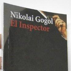 Libri di seconda mano: EL INSPECTOR - NIKOLAI GOGOL. Lote 245610675