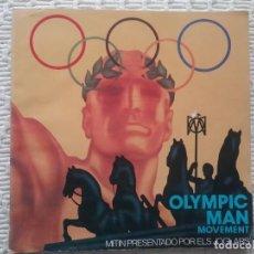 Libros de segunda mano: OLIMPIC MAN. ELS JOGLARS. TEXTO Y PROGRAMA DE MANO.. Lote 246176940