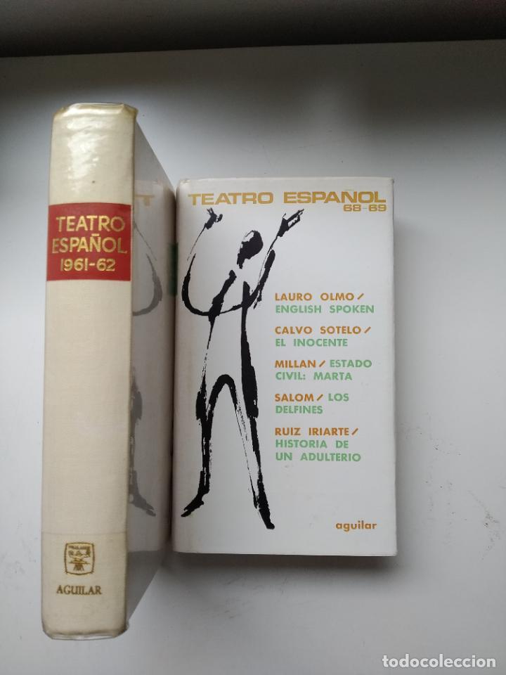 Libros de segunda mano: LOTE 2 LIBROS TEATRO ESPAÑOL 1961-62 / 1968-69 AGUILAR - Foto 2 - 246245160