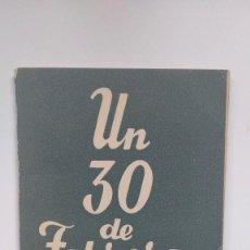 Libros de segunda mano: COLECCIÓN TEATRO Nº 399 - UN 30 DE FEBRERO - ALFONSO PASO. Lote 271021163