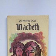 Libros de segunda mano: MACBETH - WILLIAM SHAKESPEARE - EDICIONES G. P.. Lote 271021833