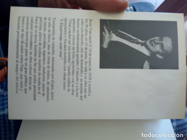 Libros de segunda mano: BORIS VIAN - LA MERIENDA DE LOS GENERALES - NUEVO ARTE THOR, 1985 - Foto 4 - 247933680