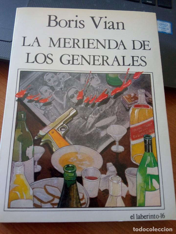 BORIS VIAN - LA MERIENDA DE LOS GENERALES - NUEVO ARTE THOR, 1985 (Libros de Segunda Mano (posteriores a 1936) - Literatura - Teatro)