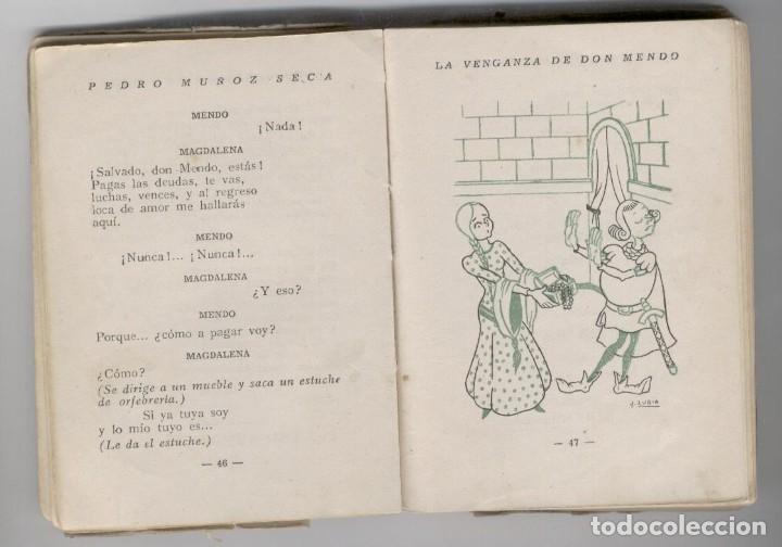 Libros de segunda mano: La venganza de D. Mendo. Pedro Muñoz Seca - Foto 4 - 248503760