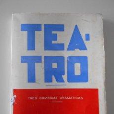 Libros de segunda mano: TEATRO. TRES COMEDIAS DRAMATICAS. ANTONIO GARCIA MIÑOR. OVIEDO 1973. RUSTICA. 17 X 22 CMS. 251 PAGIN. Lote 248684530