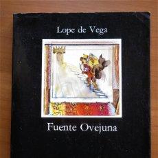 Libros de segunda mano: FUENTE OVEJUNA, LOPE DE VEGA, JUAN MARÍA MARÍN, EDITORIAL CATEDRA, 1997. Lote 293843183