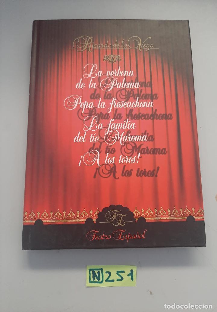 TEATRO ESPAÑOL (Libros de Segunda Mano (posteriores a 1936) - Literatura - Teatro)