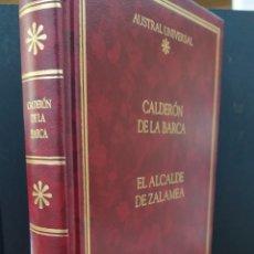 Libros de segunda mano: COLECCIÓN AUSTRAL EDICIÓN ESPECIAL. EL ALCALDE DE ZALAMEA. CARLDERÓN DE LA BARCA. ESPASA CALPE. Lote 249545225