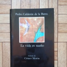 Libros de segunda mano: CALDERÓN DE LA BARCA - LA VIDA ES SUEÑO. Lote 250112920