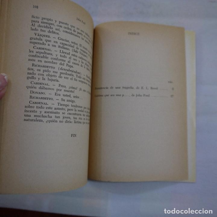 Libros de segunda mano: LÁSTIMA QUE SEA UNA P... - JOHN FORD - RODOLFO ALONSO EDITOR - 1970 - 2.ª EDICION - Foto 4 - 251022580