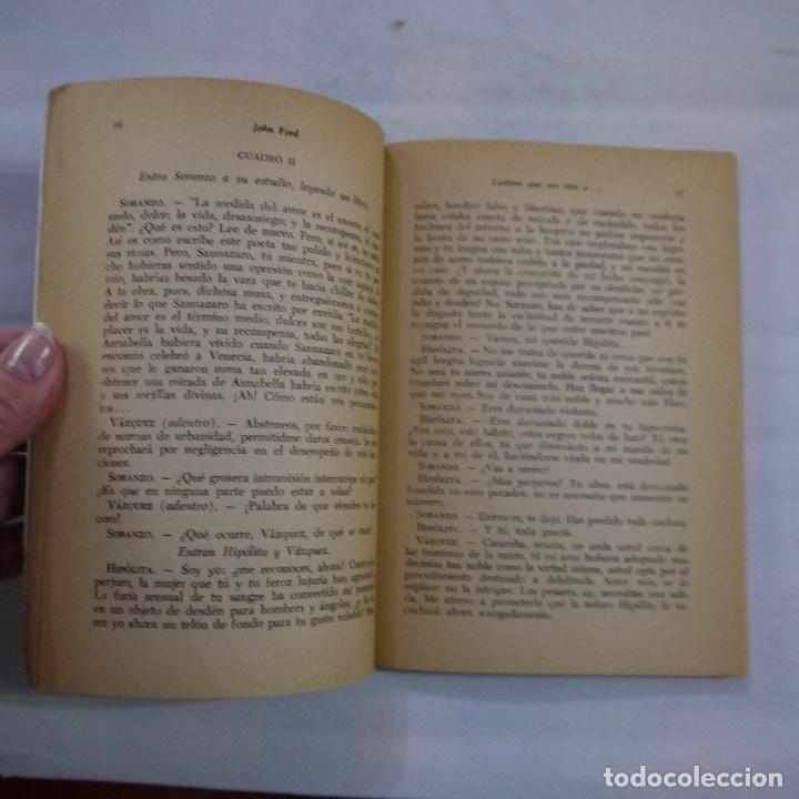 Libros de segunda mano: LÁSTIMA QUE SEA UNA P... - JOHN FORD - RODOLFO ALONSO EDITOR - 1970 - 2.ª EDICION - Foto 6 - 251022580