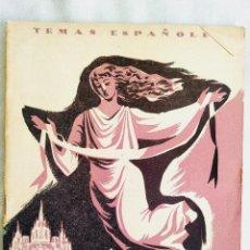 Libros de segunda mano: 1954 - AUTOS SACRAMENTALES - TEMAS ESPAÑOLES NÚM. 136. Lote 252839785
