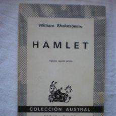 Libros de segunda mano: HAMLET. Lote 253535110