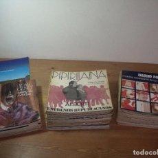 Libros de segunda mano: PIPIRIJAINA REVISTA DE TEATRO / PIPIRIJAINA TEXTOS / CUADERNOS PUBLICO COLECCION AÑOS 70 TRANSICION. Lote 253766915