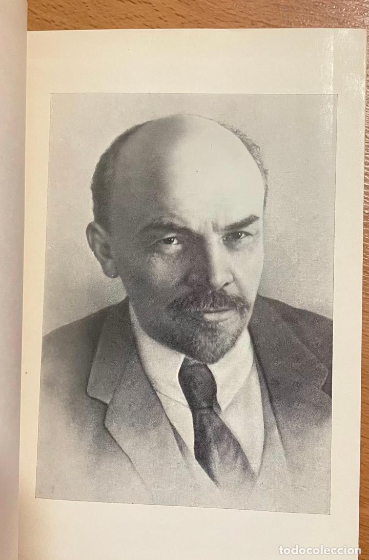 Libros de segunda mano: OBRAS ESCOGIDAS LENIN, TOMO 8, EDITORIAL PROGRESO, 1975 - Foto 3 - 258829910