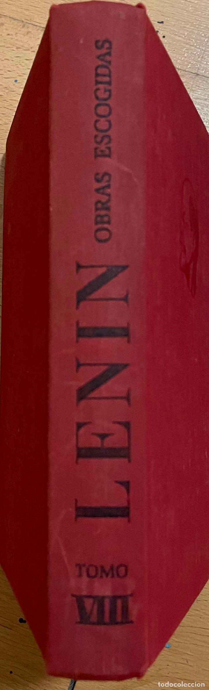 OBRAS ESCOGIDAS LENIN, TOMO 8, EDITORIAL PROGRESO, 1975 (Libros de Segunda Mano (posteriores a 1936) - Literatura - Teatro)