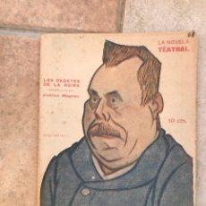 Libros de segunda mano: NOVELA TEATRAL. LOS CADETES DE LA REINA. Lote 261296565