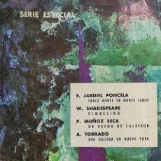 Libros de segunda mano: SERIE ESPECIAL NOVELAS Y CUENTOS Nº 14-A. Lote 261980930