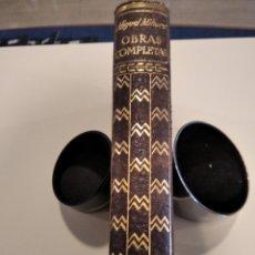 Libros de segunda mano: OBRAS COMPLETAS, MIGUEL MIHURA, PIEL, PAPEL BIBLIA. Lote 262009840