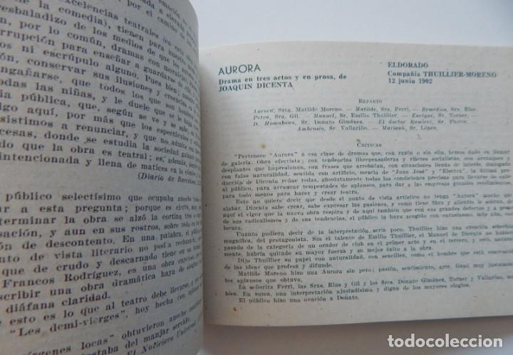 Libros de segunda mano: 4 Libros / Medio siglo de teatro en Barcelona 1901-1950 Talia en fichas / Números: 5 - 18 - 20 y 22 - Foto 6 - 262260855