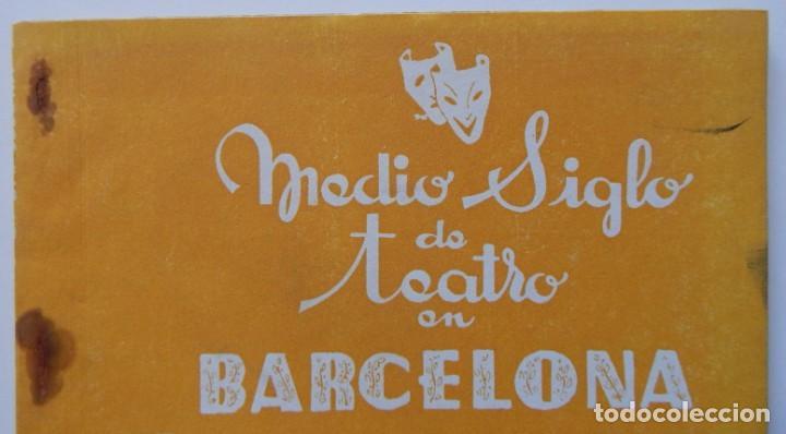 Libros de segunda mano: 4 Libros / Medio siglo de teatro en Barcelona 1901-1950 Talia en fichas / Números: 5 - 18 - 20 y 22 - Foto 9 - 262260855