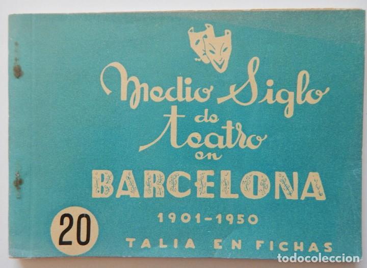 Libros de segunda mano: 4 Libros / Medio siglo de teatro en Barcelona 1901-1950 Talia en fichas / Números: 5 - 18 - 20 y 22 - Foto 14 - 262260855