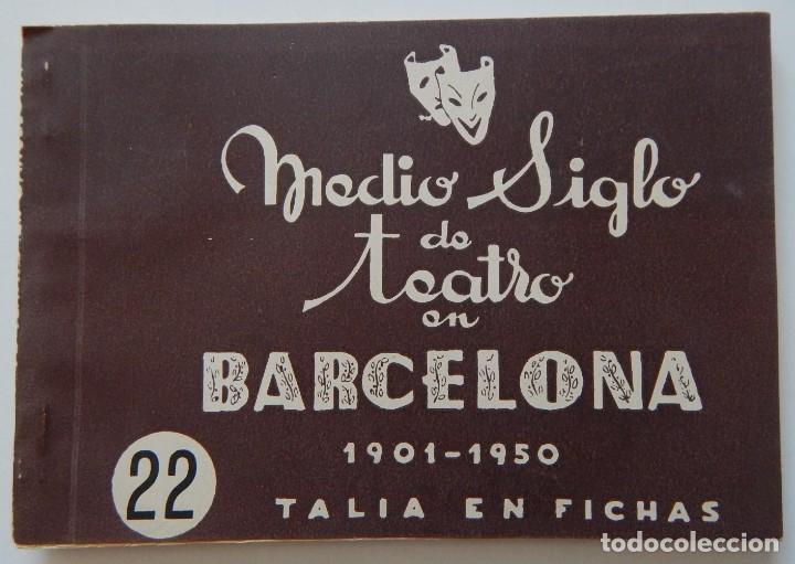 Libros de segunda mano: 4 Libros / Medio siglo de teatro en Barcelona 1901-1950 Talia en fichas / Números: 5 - 18 - 20 y 22 - Foto 19 - 262260855