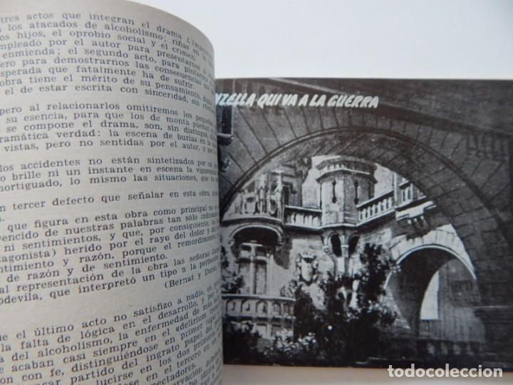 Libros de segunda mano: 4 Libros / Medio siglo de teatro en Barcelona 1901-1950 Talia en fichas / Números: 5 - 18 - 20 y 22 - Foto 23 - 262260855