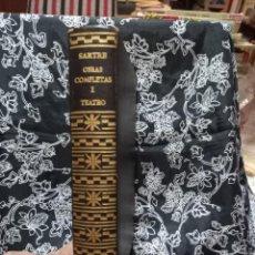 Libros de segunda mano: JEAN PAUL SARTRE - OBRAS COMPLETAS - TOMO I - TEATRO - AGUILAR - 1970. Lote 263004315